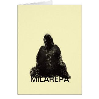 Carte de voeux de Milarepa (universelle)
