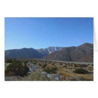 Carte de voeux de Mt San Jacinto