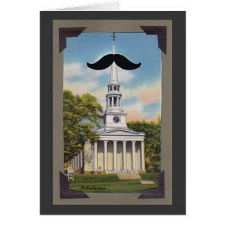 Carte de voeux de Mustachias de saint