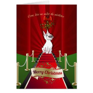 Carte de voeux de Noël de bande dessinée de