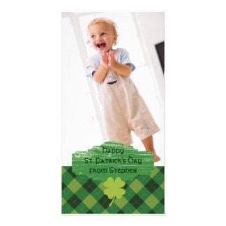 Carte de voeux de photo du jour de St Patrick