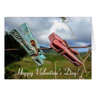 Carte de voeux de Saint-Valentin