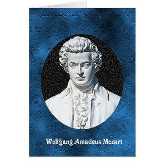 Carte de voeux de Wolfgang Amadeus Mozart