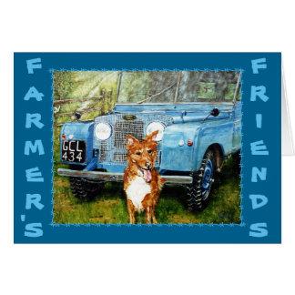 Carte de voeux des amis de l'agriculteur