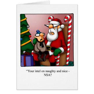 Hervorragend Cartes de vœux Humour Noël personnalisées | Zazzle.be PE41
