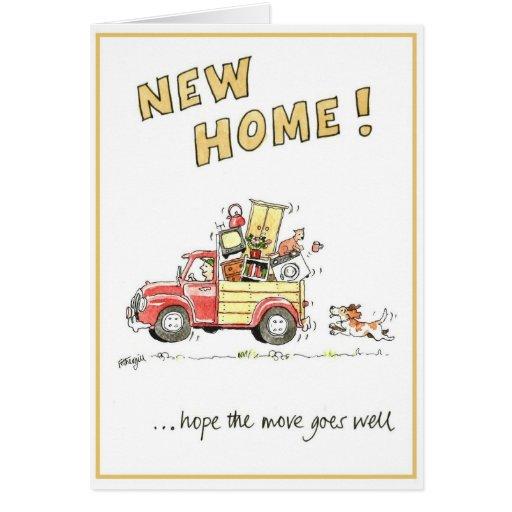 Carte de voeux dr le nouvelle maison zazzle - Carte de voeux maison ...