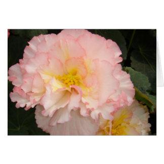 Carte de voeux florale