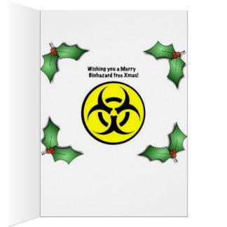 Carte de voeux libre de Noël de Biohazard