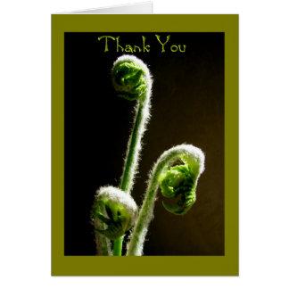 Carte de voeux--Merci