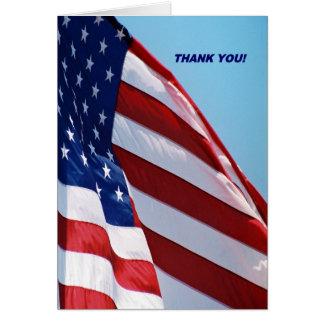 Carte de voeux militaire de Merci