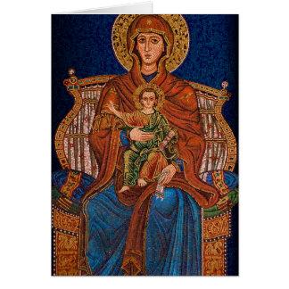 Carte de voeux orthodoxe grecque