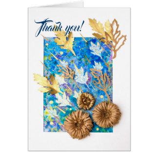 Carte de voeux personnalisée avec le chrysanthème