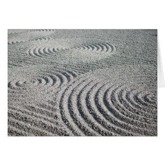 Carte de voeux : Vague en pierre