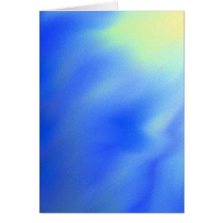 Carte de voeux vierge abstraite du soleil et de
