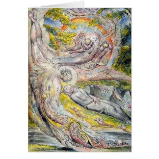 Carte de William Blake : Le rêve mystérieux de