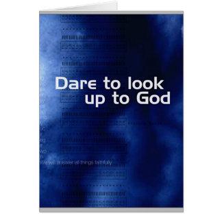 Carte Défi à rechercher à Dieu