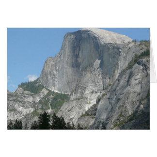 Carte Demi de dôme du côté en parc national de Yosemite