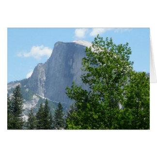 Carte Demi de dôme en été de parc national de Yosemite