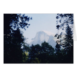 Carte Demi de dôme, parc national de Yosemite