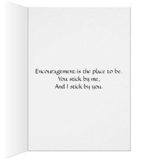 Carte d'encouragement