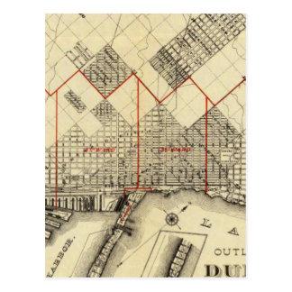 Carte d'ensemble de Duluth et de banlieues