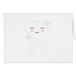 Carte Dent heureuse