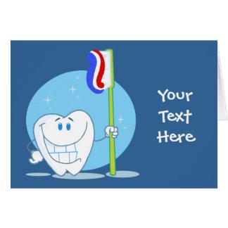 Carte Dent souriante (personnalisable)