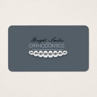 Carte dentaire d'entreprise de services de carte de visite standard