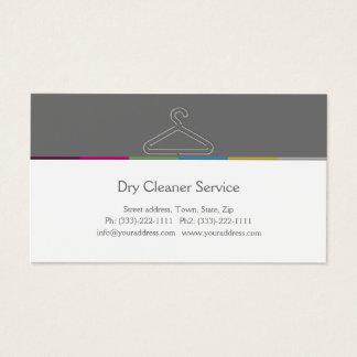 Carte d'entreprise de services de nettoyeur à sec