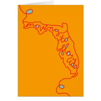 Carte déplacement à la Floride