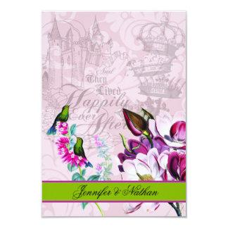 Carte Carte des magnolias RSVP de colibris