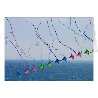 Carte des queues de cerf-volant 5x7