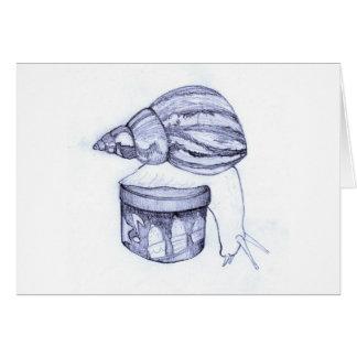 Carte d'escargot