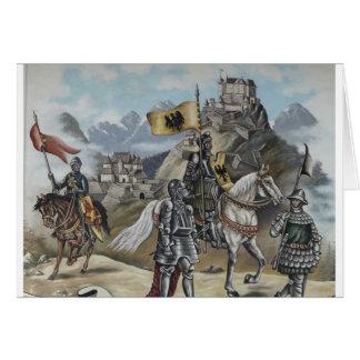 Carte Destin médiéval de partie de château de lions de