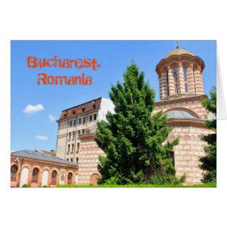 Carte Détail architectural de vieille église roumaine