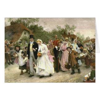 Carte Détail d'un mariage de village par Luc Fildes