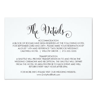 Carte Détails du sud de mariage de calligraphie de belle