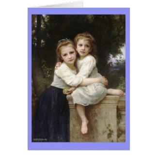 Carte Deux soeurs - William-Adolphe Bouguereau