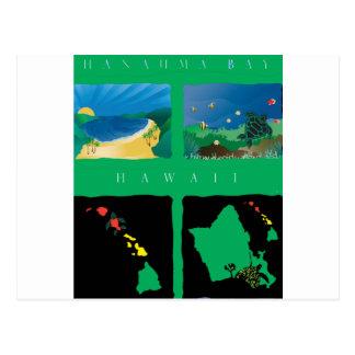 Carte d'Hawaï Oahu