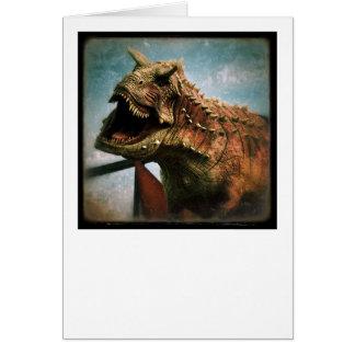 Carte Dinosaure