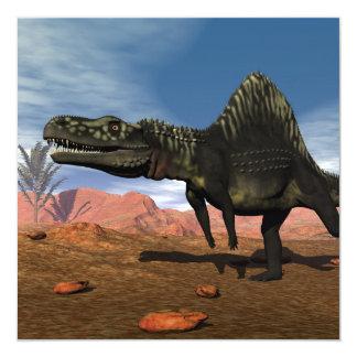 Carte Dinosaure d'Arizonasaurus - 3D rendent