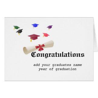 Carte Diplômé