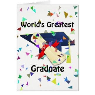 Carte Diplômé/carte d'obtention du diplôme