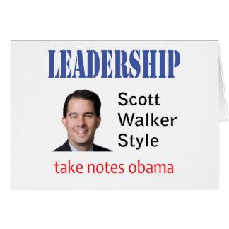 Carte Direction : Style de marcheur de Scott