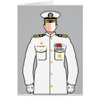Carte Dirigeant de marine