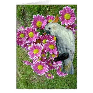 Carte Dites-le avec des fleurs