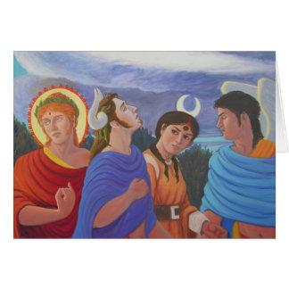 Carte Divinités flânant