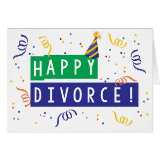Carte Divorce heureux