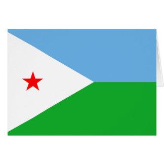 Carte Djibouti