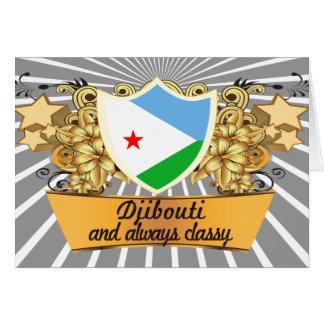 Carte Djibouti chic